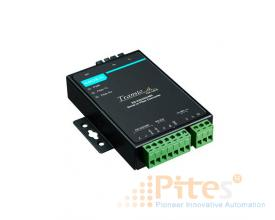 Model: TCF-142-S-SC RS-232/422/485 to Fiber Optic Converter. SC Single-mode Moxa Vietnam Đại lý Moxa