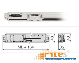 MSA 374 Integrated guide rail system Model MSA 374.65 , Model MSA 374.55 RSF ELEKTRONIK VIETNAM