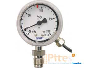 Model 230.25w/851.3 Bourdon Tube Pressure Gauge with electrical output signal Ultra High Purity (UHP