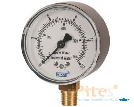Models 611.10, 631.10 Low Pressure Capsule Gauges 611.10, Copper Alloy Wetted Parts 631.10, Stainles