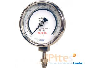 Model 332.54-UHP Bourdon Tube Pressure Gauges Model 332.54-UHP LM-Wika Việt Nam