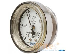Model PG43SA-C Diaphragm pressure gauge, flush For sanitary applications, compact version, NS 63