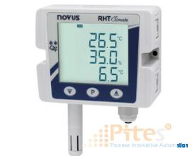 Model: RHT Climate WM-485-LCD P/N: 8804000101 NOVUS Vietnam RHT Climate - Temperature and Humidity