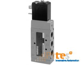 5/2 - WAY SOLENOID VALVE  ASCO NUMATICS Model number: L12BA452OG00040 +Coil:  Model: 237-570 SJ