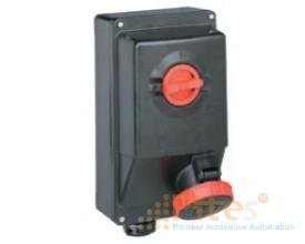 Appleton Socket 63A, 400V, 3P+E Cat. Number: PRE463RRA5 Appleton Việt Nam