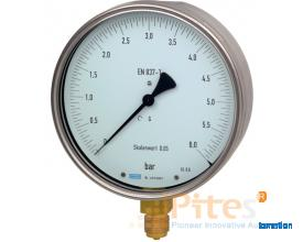 Model 312.20 Test Gauge Bourdon Tube Pressure Gauge with ± 0.25% Accuracy