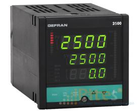 2500 PID Controller Pressure and Force, 1/4 DIN  2500-0-0-0-0-0-1 Gefran Vietnam