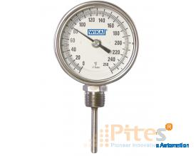 Model TI.31 Bimetal Thermometer Stainless Steel & Wetted Parts, Process Grade Resettable