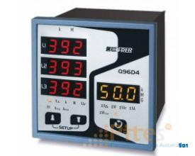 Q96B4W I Q96B4W005  HI-PERFORMANCE MULTIFUNCTION METER WITH LED DISPLAY FRER Việt Nam, đại lý hãng F
